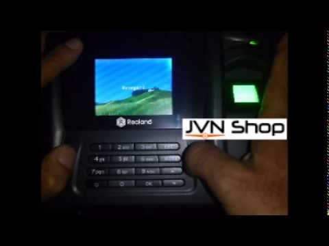 Manual do Ponto Biometrico Realand ZDC20 - JVN Shop