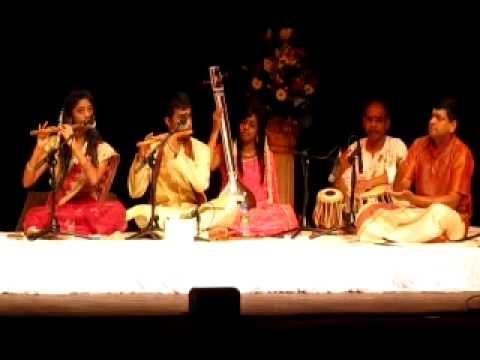 Sukanathan & Bairavie - Flute Concert - Varnam