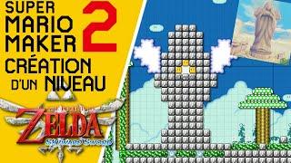 Super Mario Maker 2 - Création d'un niveau Zelda : la Tour des Cieux (Zelda SS) #4 (fin)