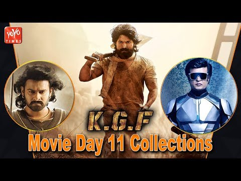 KGF Movie Day 11 Collections | Rocking Star  Yash | KGF Chapter 2 Release Date | YOYO Times