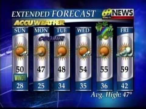 WFMZ 69 News Stormcenter Updates: Delaware & Lehigh River Flooding (3/12/11)