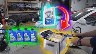 Can You DEEP FRY FOOD with ENGINE OIL?