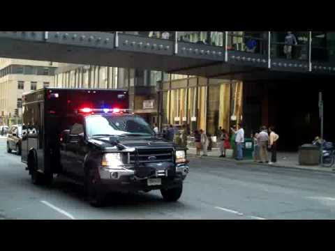 Obamas Motorcade While We Were Touring Minneapolis