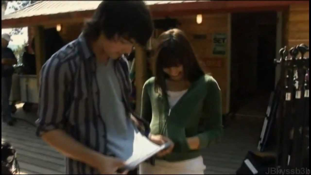 jemi moments camp rock behind the scenes youtube