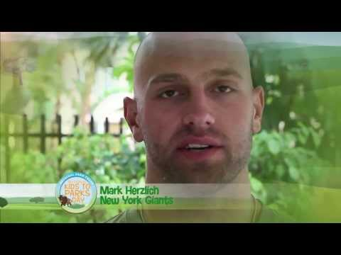 National Kids to Parks Day PSA - Mark Herzlich