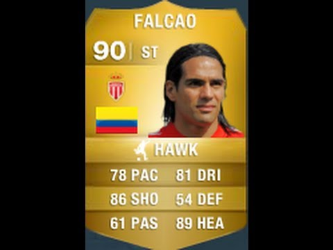 FIFA 14 FALCAO 90 Player Review & In Game Stats Ultimate Team