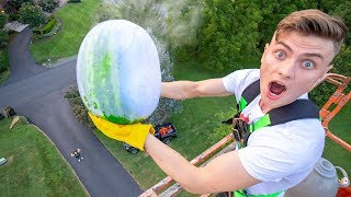 FROZEN WATERMELON DROP TEST!! (LIQUID NITROGEN)