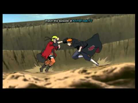 Naruto Vs Pain Part 1 We're All To Blame video