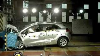 Kia Rio Crash Test-Euroncap