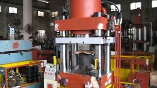 single action hydraulic press machine