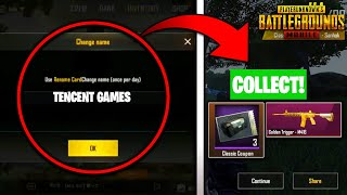 """WHAT HAPPENS IT YOU CHANGE YOUR NAME TO """"TENCENT GAMES""""!? PUBG MOBILE MYTHS!"""