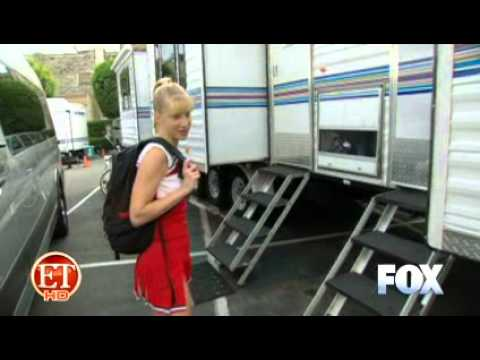 Hilarious ! Glee Season 2 Behind The Scenes: Brittany video