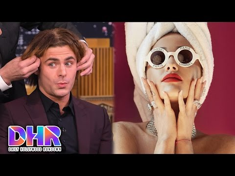 Zac Efron Gives BEST TBT Ever - Ariana Grande Gets Super Candid In Billboard Interview (DHR)