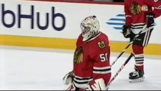 Eric Semborski Chicago Blackhawks Back Up Goalie For A Day