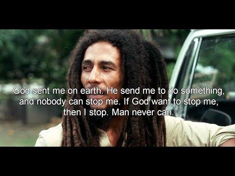 Bob Marley thinking video