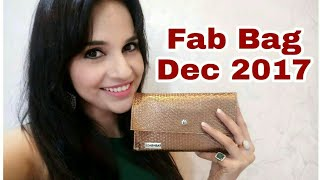 Fab Bag December 2017 | Unboxing + Review by Ritu Kapoor | Sugar Makeup |