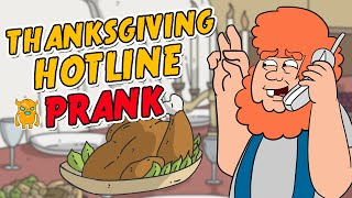 Thanksgiving Turkey Hotline Prank - Ownage Pranks