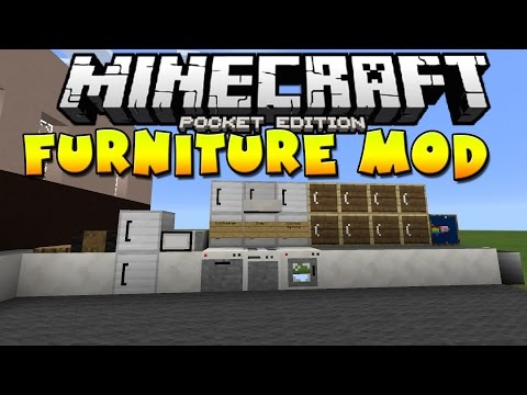 [0.10.5] Furniture Mod! - Minecraft Pocket Edition
