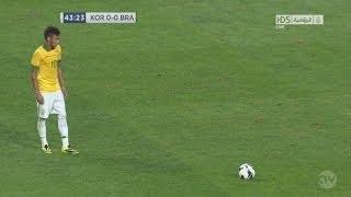 Gol de Neymar en Corea del Sur  • Neymar Amazing Free-Kick Goal vs South Korea 12.10.2013 HD