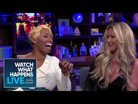NeNe Leakes Plays Plead the Fifth with Kim! - RHOA - WWHL