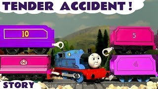 Thomas & Friends Tender Accident and Colors with Minions - Train Toys for Kids & Children TT4U