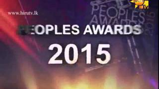 Hiru TV & Hiru FM win all the Media awards at SLIM Nielsen Peoples Awards 2015 - Trailer