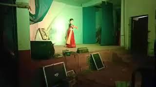 Modhuro dhwani baje#rabindra nritya#anushka chakraborty#shristi Cultural group