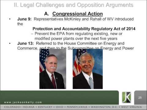 Jackson Kelly PLLC Webinar - EPA's Proposed Rule Clean Power Plan