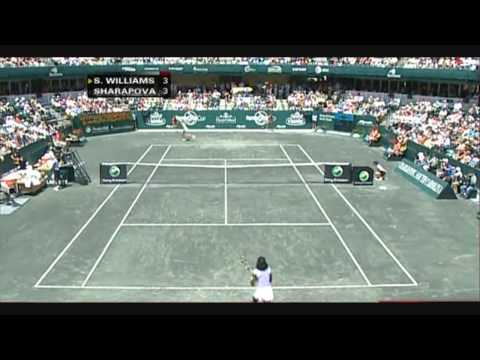 Serena Williams vs Maria Sharapova 2008 Highlights 1/2