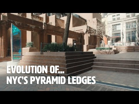 The Evolution of... NYC's Pyramid Ledges