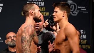 Download CM Punk vs. Mickey Gall   Weigh-In   UFC 203 3Gp Mp4