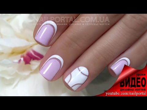 Дизайны ногтей видео уроки ютуб