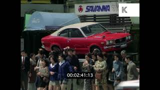1970s Ginza, Tokyo Busy Street Scene, HD from 35mm | Kinolibrary