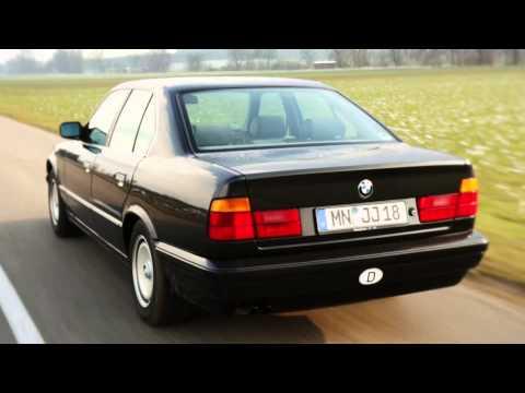 BMW 5 Series (E34) history