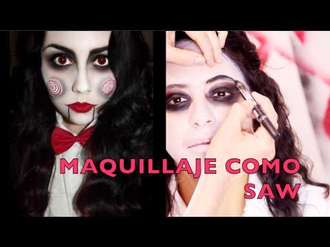 Maquillaje de SAW HALLOWEEN / SAW Makeup Tutorial