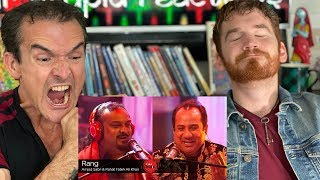 Coke Studio Rang REACTION! | Rahat Fateh Ali Khan & Amjad Sabri