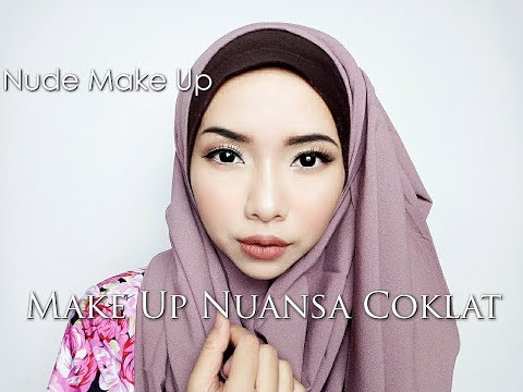 Nude Make Up Tutorial ( Make up Nuansa Coklat)| Cikal ananda