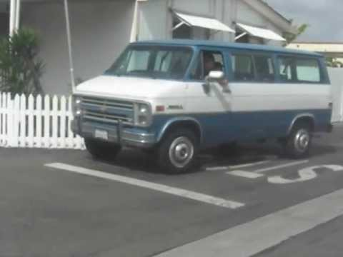 Cash For Clunkers >> Our 1988 Chevy Beauville G30 1 Ton Sports Van - YouTube