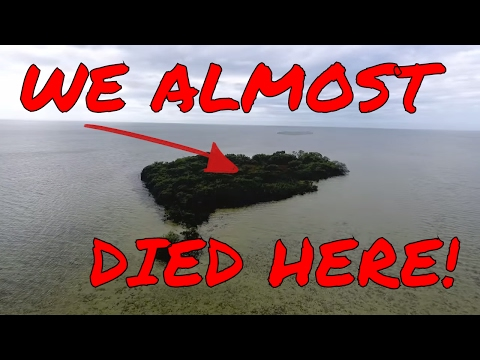 Almost Dying On A Deserted Deadly Island - 24 Hour Overnight Challenge FAIL
