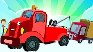 Wheels On The Tow Truck | Nursery Rhymes For Children by Kids Tv