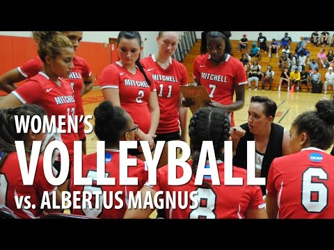 Mitchell College Women's Volleyball vs. Albertus Magnus (09/03/2014)