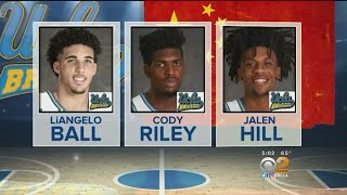 President Goes To Bat For UCLA Basketball Players Arrested In China