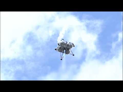 Morpheus Completes 64-second Free Flight
