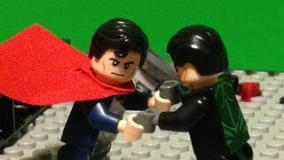 LEGO Man of Steel - Review & Stop Motion