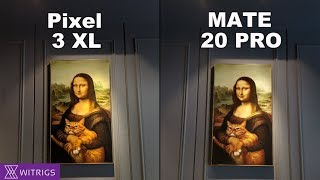 HUAWEI Mate 20 Pro VS Google Pixel 3 XL Camera Test | Low Light Photo Comparison
