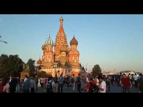 Igreja de São Basylio, na Praça Vermelha - Russia