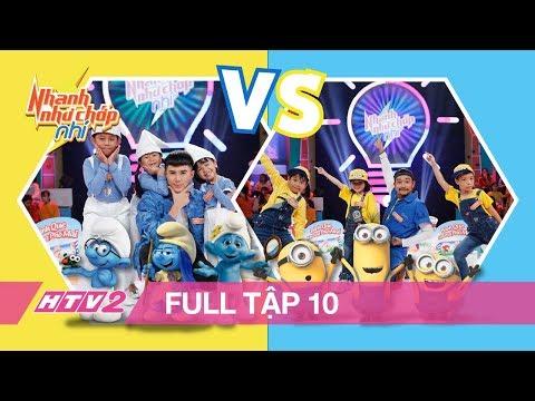 NHANH NHƯ CHỚP NHÍ - Tập 10 - FULL | Đại chiến siêu nhí: Nhà vô địch 7 tuổi đụng độ đối thủ đáng gờm