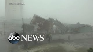 Record-breaking hurricane slams Florida Panhandle