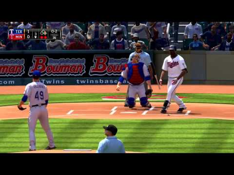 MLB 15 The Show Texas Rangers vs Minnesota Twins 8 13 2015