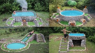 Best Build Swimming Pool With Primitive Technology